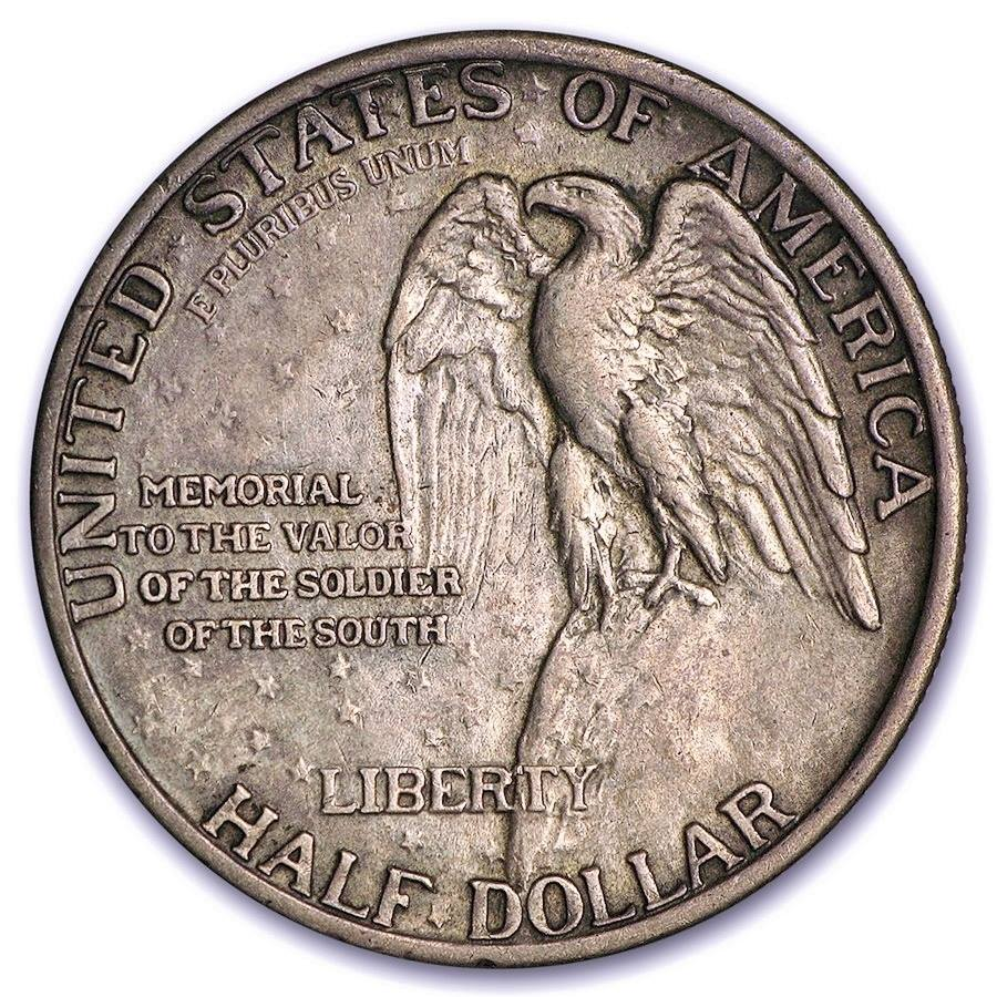 United States Confederate Soldier Memorial Coin - Rear